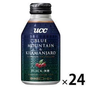 缶コーヒー UCC BLACK ブルーマウンテン&キリマンジァロ 275g 1箱(24缶入)|LOHACO PayPayモール店