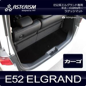ASTERISM E52系エルグランド ラゲッジマット(カーゴマット)|y-mt