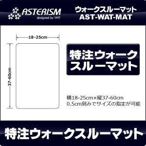 ASTERISM 特注ウォークスルーマット|y-mt