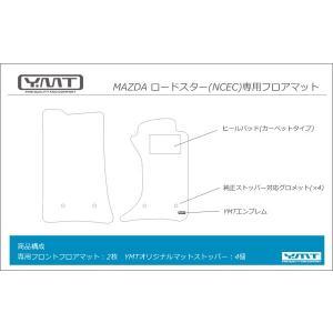 YMTフロアマット マツダ ロードスター(NCEC) フロアマット y-mt 03