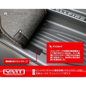 新型 シエンタ 170系 ラバー製セカンドラグマット+ステップマット YMT|y-mt|05