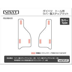 ダイハツ トール 900系 ラバー製ステップマット  YMT|y-mt|06