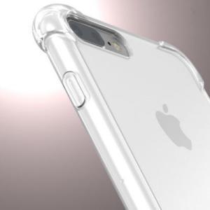 スマホケース おしゃれ iPhone7 ケース アイフォン7 カバー スマホカバー 透明 TPU コーナーガード付 クリア btab040|y-mty