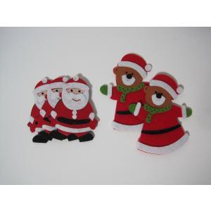オーナメント おしゃれ ガーデニング クリスマス 飾り 部屋をかわいく飾ろう サンタ くま gwab038 y-mty