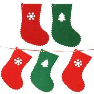 オーナメント おしゃれ ガーデニング クリスマス 飾り 装飾 おしゃれ 靴下型 gwab047 y-mty