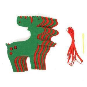 オーナメント おしゃれ ガーデニング クリスマス 飾り  かわいい 装飾 トナカイ型 gwab048 y-mty