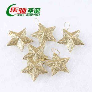 オーナメント おしゃれ ガーデニング クリスマス 飾り 装飾 ツリー イラキラ 星 スター gwab049 y-mty