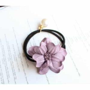 ヘアバンド レディース おしゃれ 真珠の花柄 ヘアアクセサリー kpab052|y-mty