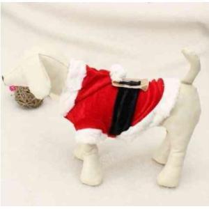 ドッグウェア XXSサイズ おもしろ 夢を届ける サンタクロース 可愛い衣装に変身 ngab586 y-mty