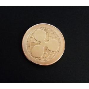 記念コイン コイン ripple ゴールド 金運 仮想通貨 リップル ngab731 y-mty