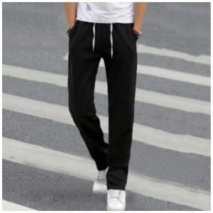 ジョガーパンツ メンズ おしゃれ ハーフパンツ ブラック 大きいサイズ ジョギング ストレート ワイド 太め phab298|y-mty
