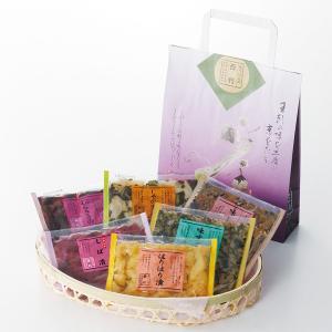 漬物 ギフト 京都 詰め合わせ 京つけもの西利 味の小袋 京漬物 贈答品 老舗 お祝い お土産 プレゼント お返し