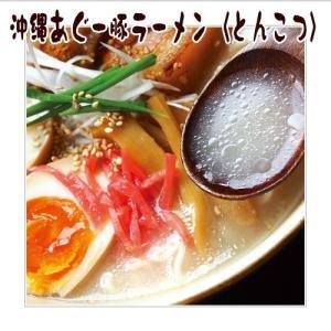 沖縄あぐー豚とんこつラーメン 1ケース(5食入×6袋) ナンポー y-sansei-shop