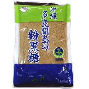 沖縄多良間島の粉黒糖 260g 黒糖本舗垣乃花|y-sansei-shop