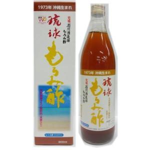 石川酒造場 琉球 もろみ酢(黒糖)900ml×12本セット ランキング 沖縄産 健康 ケース買いお得 クエン酸 アミノ酸|y-sansei-shop