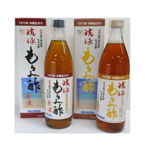 石川酒造場 琉球もろみ酢(原液・黒糖)900ml×12本チョイス|y-sansei-shop