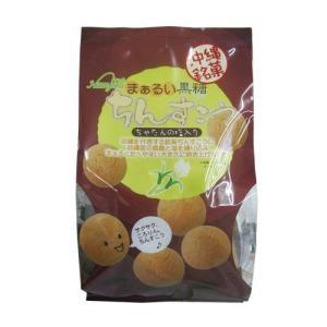 まぁるい黒糖ちんすこう(袋)15個入 ナンポー|y-sansei-shop