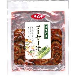 ゴーヤー漬 キムチ 130g サンフルーツ 4個までメール便可 y-sansei-shop
