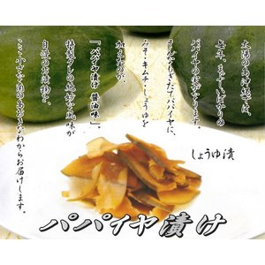 パパイヤ漬 醤油 150g サンフルーツ 4個までメール便可 y-sansei-shop 02