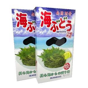 沖縄県産 海ぶどう 120g×2箱 メック・インターナショナル