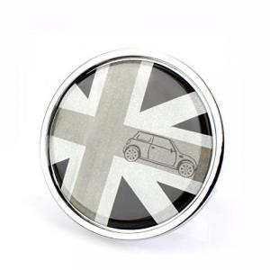 全国配送料無料!TTN 車フロント グリル エンブレム バッジ金属ステッカーのミニクーパー ミニ クーパー カントリーマン クラブマン R55 R56 R57 R58 R60 R61|y-select-shop