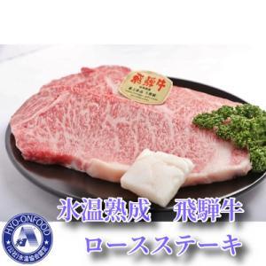 山県市 ふるさと納税 氷温(R)熟成 飛騨牛A5等級ロース肉ステーキ 高速冷凍 180g×3枚