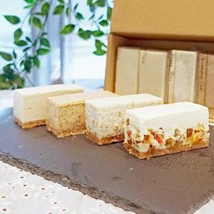 小金井市 ふるさと納税 白砂糖不使用チーズケーキお試し4種詰め合わせ 6個入り|y-sf