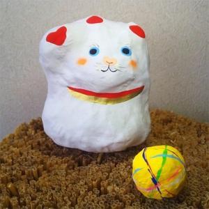 香取市 ふるさと納税 招き猫・ 手鞠|y-sf
