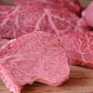 北栄町 ふるさと納税 鳥取和牛赤身ステーキ 約120g×2枚