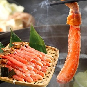 稚内市 ふるさと納税 稚内加工の高品質本ずわい蟹かにしゃぶセット750g