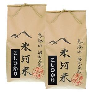 酒田市 ふるさと納税 氷河米 コシヒカリ 精米5kg×2袋 合計10kg