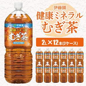 香取市 ふるさと納税 伊藤園 健康ミネラルむぎ茶 2L×12本(2ケース)|y-sf