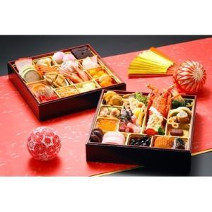 銚子市 ふるさと納税 和洋中折衷二段重 特選おせち料理の画像