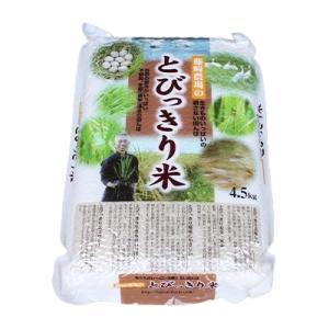 香取市 ふるさと納税 とびっきり米(コシヒカリ) 4.5kg 玄米|y-sf