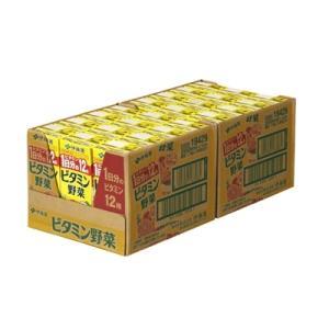 紀の川市 ふるさと納税 紀の川市産 紙パック飲料 ビタミン野菜200ml×24本(1ケース)|y-sf