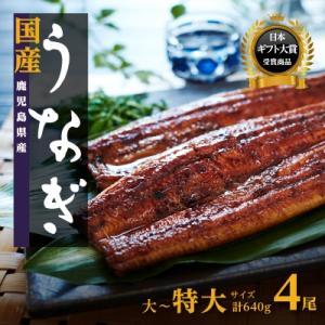 大崎町 ふるさと納税 鹿児島県産うなぎ長蒲焼4尾