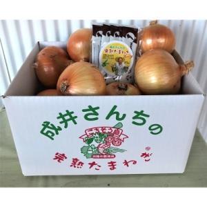 洲本市 ふるさと納税 成井さんちの完熟たまねぎ(5kg)+完熟たまねぎスープ◆O-23