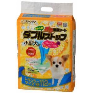 富士市 ふるさと納税 クリーンワン香る消臭シートダブルストップ小型犬用レギュラー112P×4 y-sf