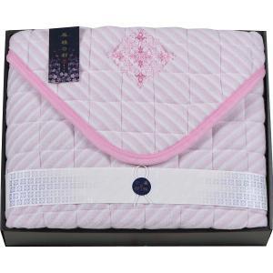 京都西川 敷パット ピンク 07-SP-3000 || 内祝 ベッドパッド 敷きバッド 布団 ふとん...