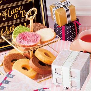 スイートジュエル カラフルラスクセット バウムクーヘン MO-18 || お菓子 菓子折り 洋菓子 ...