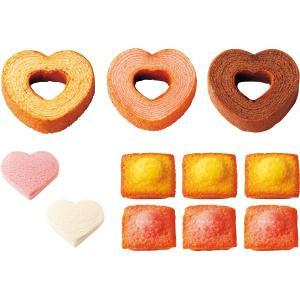 アムール ハートのバウムセット B F128 || お菓子 菓子折り 洋菓子 焼き菓子 スイーツ 詰...