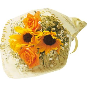 父の日 2020 プレゼント ギフト 父の日花束 黄色系    送料無料 メッセージカード 父の日ギ...