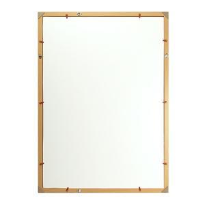 木製ポスターフレーム Vポスター額 B2 ナチュラル/ブラウン 木製ポスターフレーム 送料無料 同梱不可|y-sharaku|03