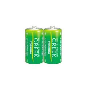 東芝 マンガン電池 クリーク 単2(2本入) (R14PEM2KP)|y-sharaku
