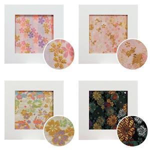 京都 西陣織 金襴額 全4種 西陣織の魅力をインテリアに 万丈 送料無料 数量限定|y-sharaku