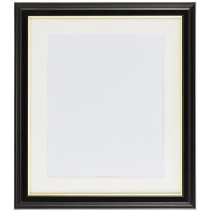 肖像額縁 写真四切 ブラック フジカラー|y-sharaku