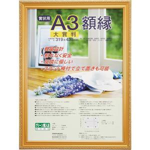 【受発注商品】樹脂製 賞状額 金ケシ 賞状 大賞判 フ-KWP-41/N ナカバヤシ|y-sharaku