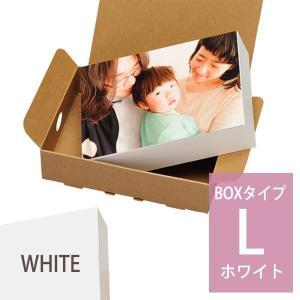 シャコラ shacolla BOXタイプ L判 ホワイト 富士フィルムの商品画像