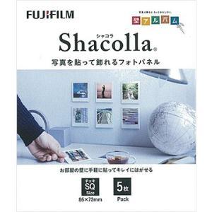 シャコラ(shacolla) 壁タイプ チェキSQサイズ ホワイト 5枚パック 富士フイルム|y-sharaku