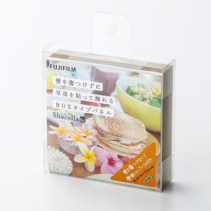 壁タイプアルバム シャコラ ShacollaBox ましかく89 (89×89mm) ゴールド 富士フィルム|y-sharaku